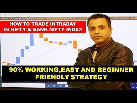 Video Tutorial | Price Action Intraday Trading Strategy for Nifty & Bank Nifty Index| 90% Accuracy Beginner Friendly|2021