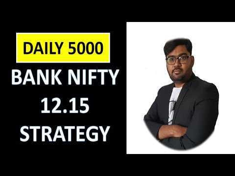 Video Tutorial | Banknifty Intraday Strategy [Earn Daily 5000]|2021