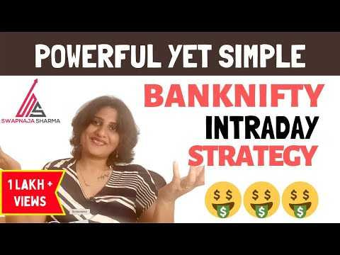 Video Tutorial | MOST POWERFUL YET SIMPLE , BANKNIFTY INTRADAY STRATEGY!|2021