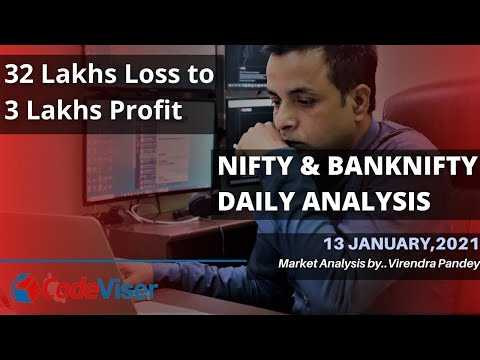 Video Tutorial | NIFTY PREDICTION FOR TOMORROW & BANKNIFTY ANALYSIS FOR 13 JANUARY 2021 – BEST STOCK FOR TOMORROW|2021